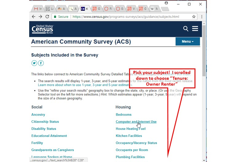 GIS Manual: Mapping Census Data Tutorial