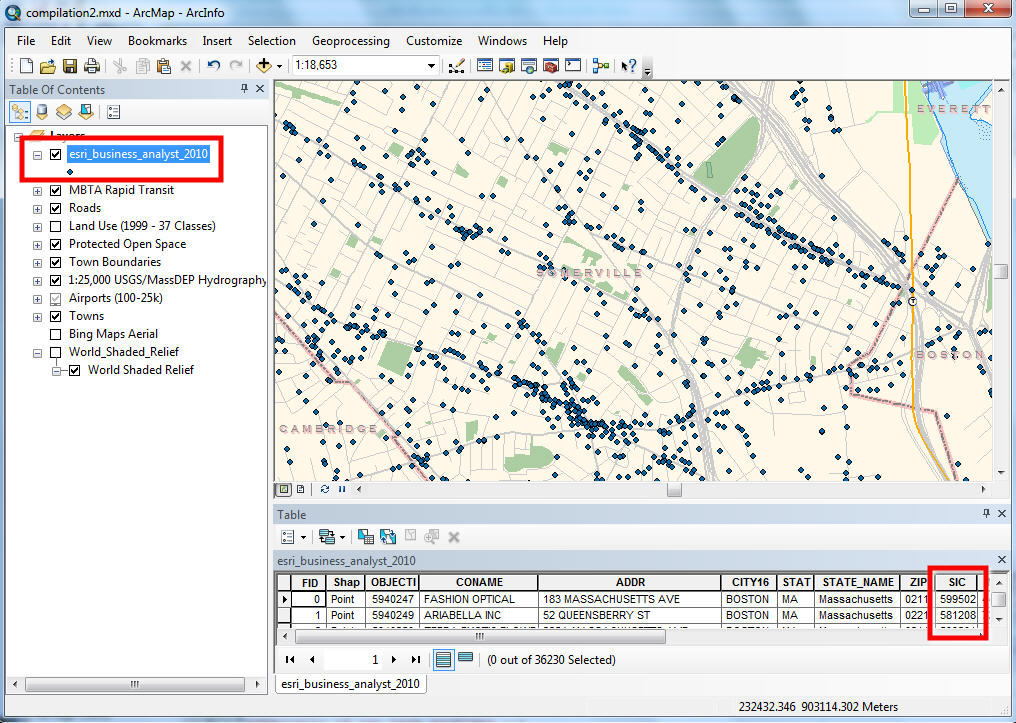 Worksheet. GIS Manual Mapping and Analysis with Categorical Data